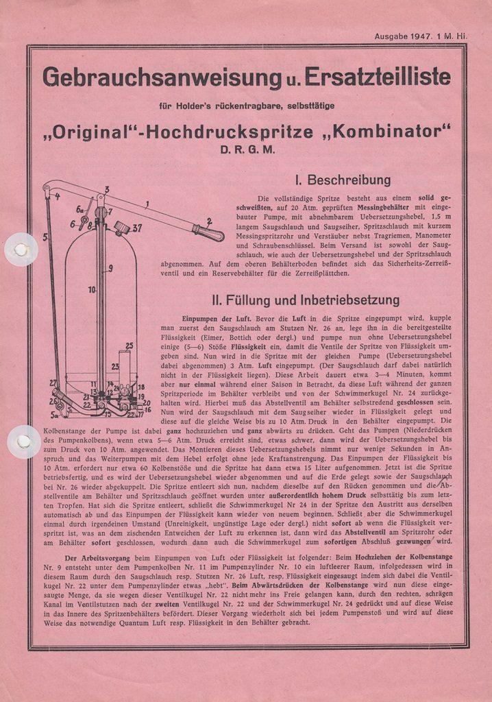 http://holderspritze.de/wp-content/uploads/2018/06/1947-Gebrauchsanleitung-und-Ersatzeilliste-Kombinator-718x1024.jpeg